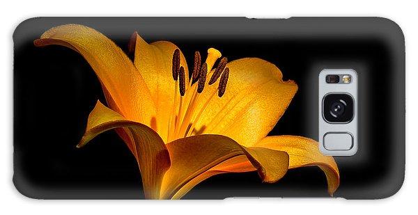 Luminous Lilly Galaxy Case by Len Romanick