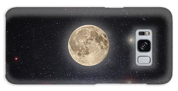 Moon Galaxy Case - Luna Lux by Steve Gadomski
