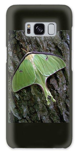 Luna Moth Galaxy Case by Marie Hicks