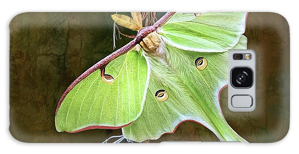 Luna Moth Galaxy Case by Thanh Thuy Nguyen