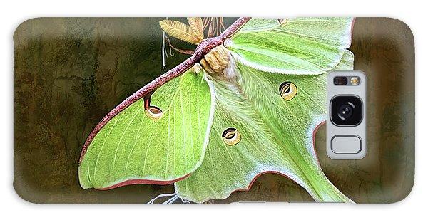 Luna Moth Galaxy Case