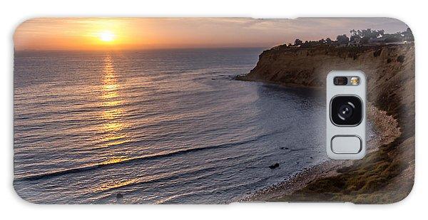 Lunada Bay Sunset Galaxy Case