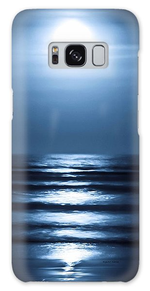Lunar Dreams Galaxy Case by DigiArt Diaries by Vicky B Fuller