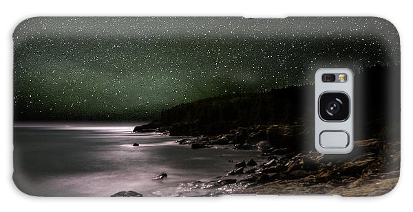 Lunar Eclipse Over Great Head Galaxy Case by Brent L Ander