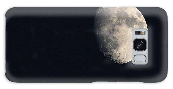 Lunar Surface Galaxy Case by Angela Rath