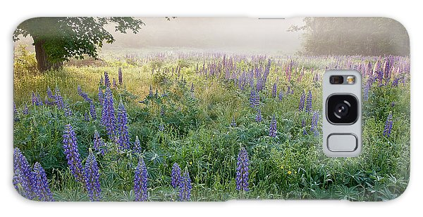 Lupine Field Galaxy Case by Susan Cole Kelly