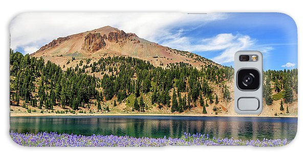 Lupines Lake And Lassen Galaxy Case