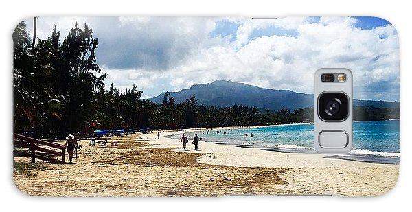Luquillo Beach, Puerto Rico Galaxy Case