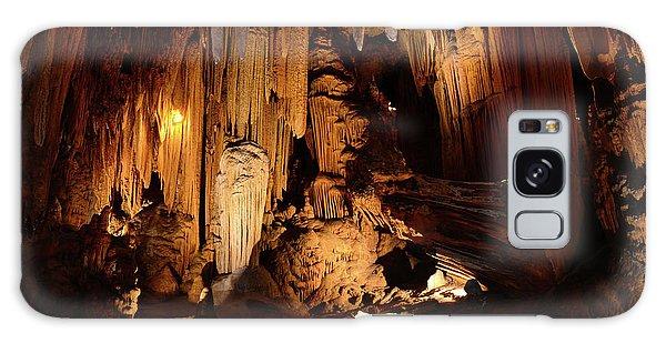 Luray Dark Caverns Galaxy Case by Paul Ward