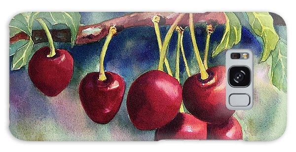 Luscious Cherries Galaxy Case