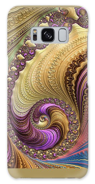 Luxe Colorful Fractal Spiral Galaxy Case