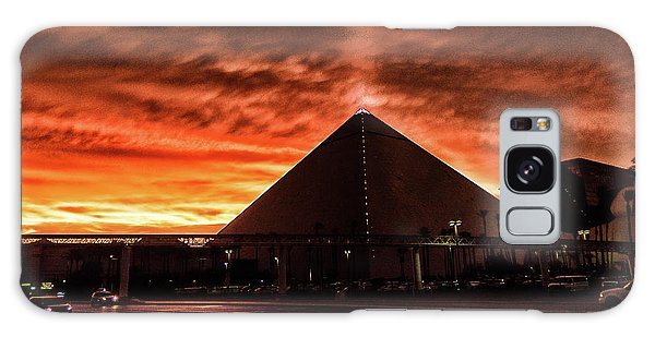 Galaxy Case featuring the photograph Luxor Las Vegas by Michael Rogers