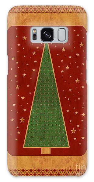 Luxurious Christmas Card Galaxy Case