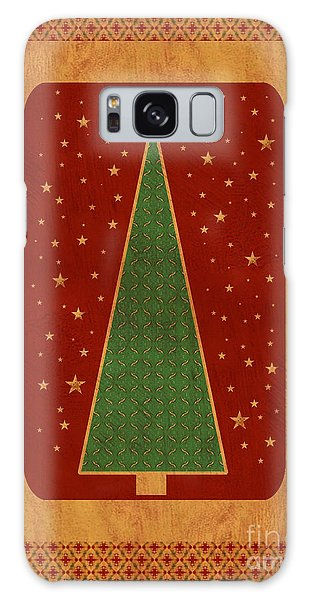 Luxurious Christmas Card Galaxy Case