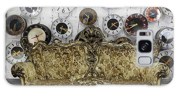 Time Frame Galaxy Case - Luxury Sofa  In Retro Room by Setsiri Silapasuwanchai