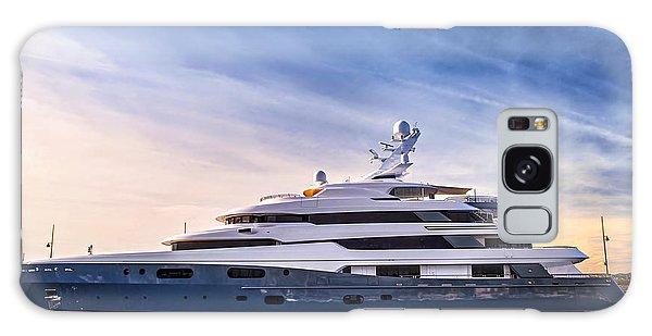 Docked Boats Galaxy Case - Luxury Yacht by Elena Elisseeva