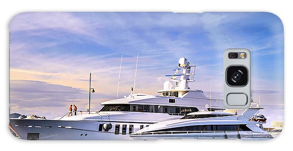 Motor Yacht Galaxy Case - Luxury Yachts by Elena Elisseeva