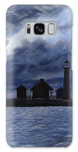 Lydia Ann Lighthouse Galaxy Case