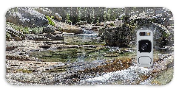 Lyell Fork Tuolomne River Yosemite National Park Galaxy Case