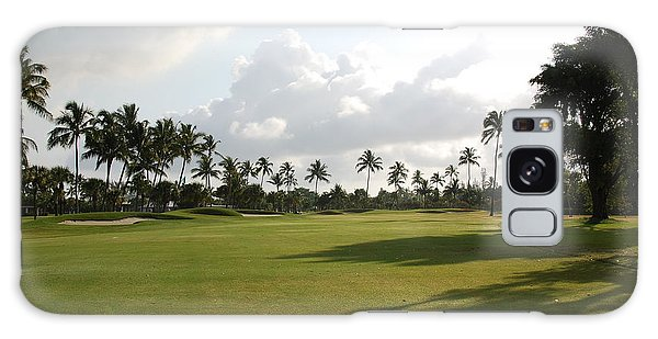Lyford Cay Golf Club The Bahamas Galaxy Case by Jan Daniels