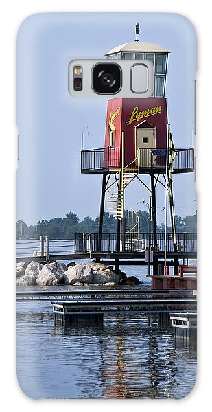 Lyman Harbor Lighthouse Galaxy Case
