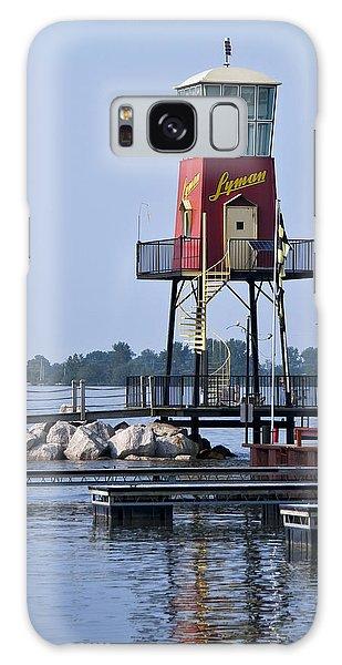 Lyman Harbor Lighthouse Galaxy Case