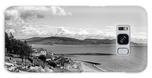 Lyme Regis And Lyme Bay, Dorset Galaxy Case by John Edwards