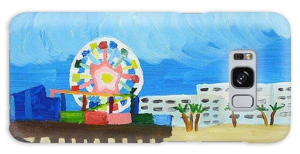 Lyndas Ferris Wheel Galaxy Case by Anthony Larocca