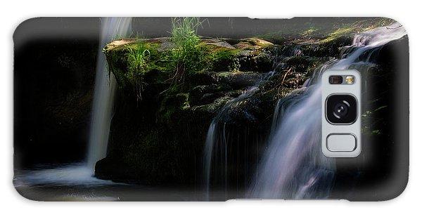 Lynn Mill Waterfalls Galaxy Case
