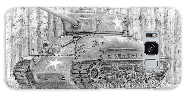 M-4 Sherman Tank Galaxy Case by Jim Hubbard