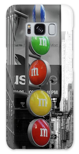 M And Ms In New York City Galaxy Case