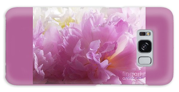 M Shades Of Pink Flowers Collection No. P72 Galaxy Case
