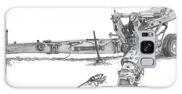 M198 Howitzer - Natural Sized Prints Galaxy Case
