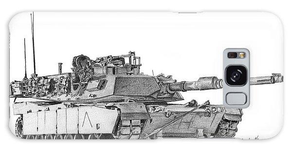 M1a1 A Company Commander Tank Galaxy Case