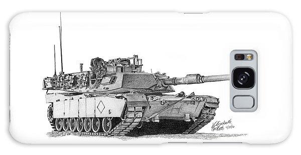 M1a1 Battalion Commander Tank Galaxy Case