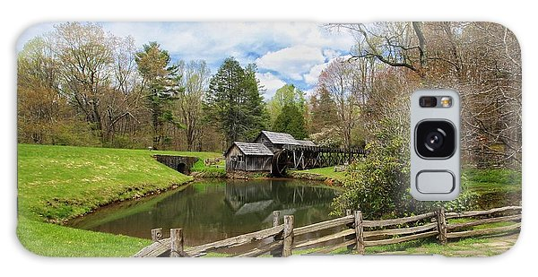 Mabry Mill In The Spring Galaxy Case