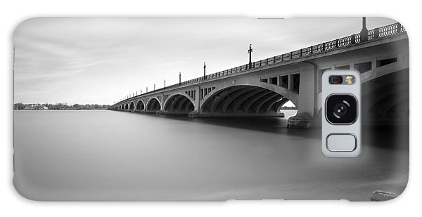 Macarthur Bridge To Belle Isle Detroit Michigan Galaxy Case
