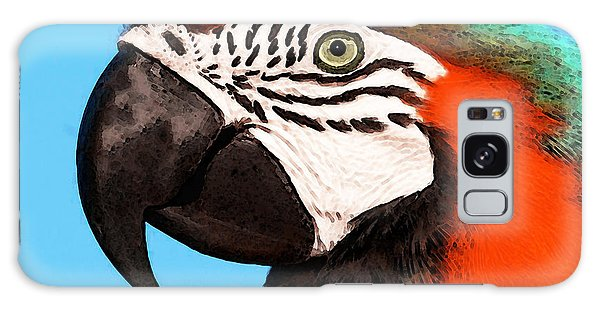 Macaw Bird - Rain Forest Royalty Galaxy S8 Case