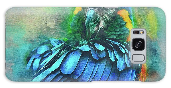 Macaw Magic Galaxy Case by Brian Tarr