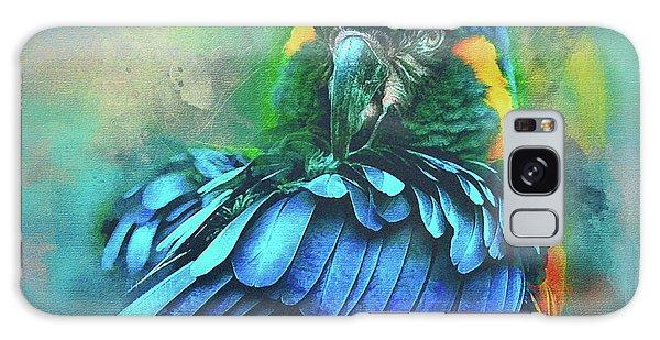 Macaw Magic Galaxy Case by Brian Tarr