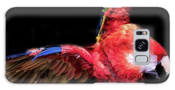 Macaw Galaxy Case - Macaw by Martin Newman