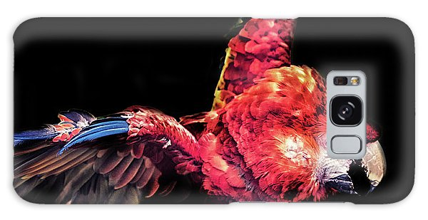 Macaw Galaxy Case - Macaw Parrot by Martin Newman