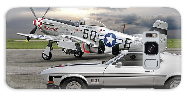 Mach 1 Mustang With P51  Galaxy Case