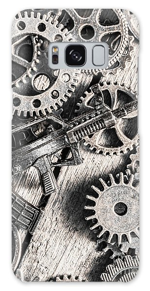 Machines Of Military Precision  Galaxy Case by Jorgo Photography - Wall Art Gallery