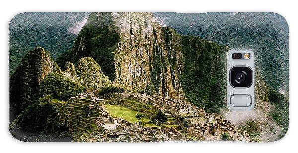 Machu Picchu At Sunrise Galaxy Case