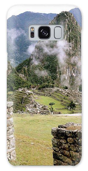 Machu Picchu In The Morning Light Galaxy Case