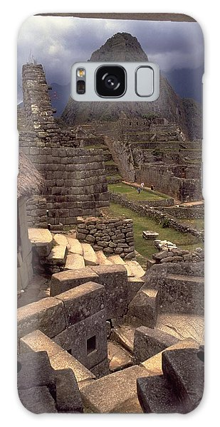 Machu Picchu Galaxy Case by Travel Pics