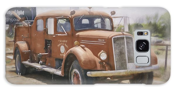 Mack Fire Truck  Galaxy Case