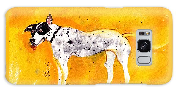 Mack The Pit/dalmatian Galaxy Case by Gertrude Palmer