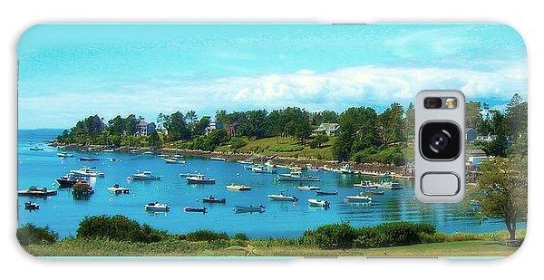Mackerel Cove On Bailey Island Galaxy Case